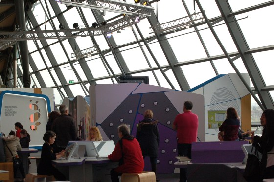 Glasgow Science Centre inside