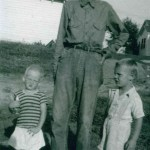 Father and brothers, early 1930's