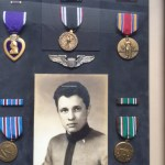 Spach and war medals