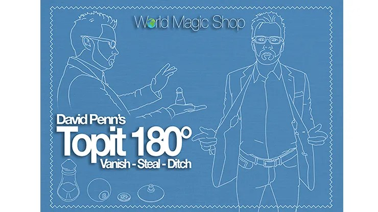 Topit 180 Right Handed (Gimmick and Online Instructions) by David Penn