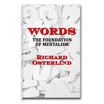 Words : The Foundation of Mentalism by Richard Osterlind