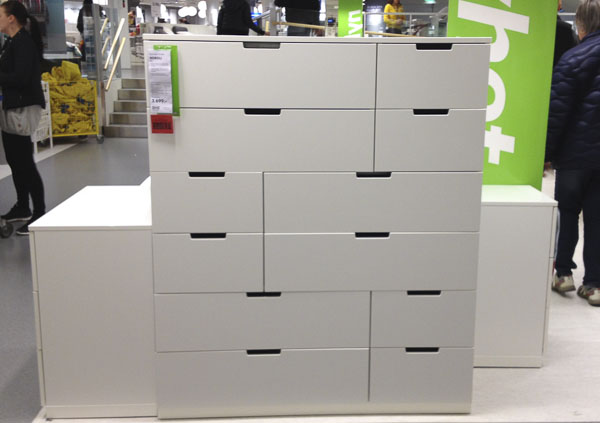 Ikea Nordli Dresser White Chests Of Drawers - Thoughts – Nini's Scattered Thoughts