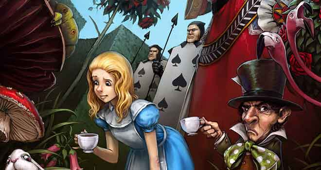 Falling Down The Rabbit Hole Wallpaper 30 Awesome Alice In Wonderland Concept Art Ninja Crunch