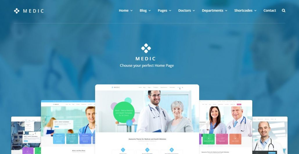 Top 10 Premium Health and Medical WordPress Themes 2016 - Ninja Team