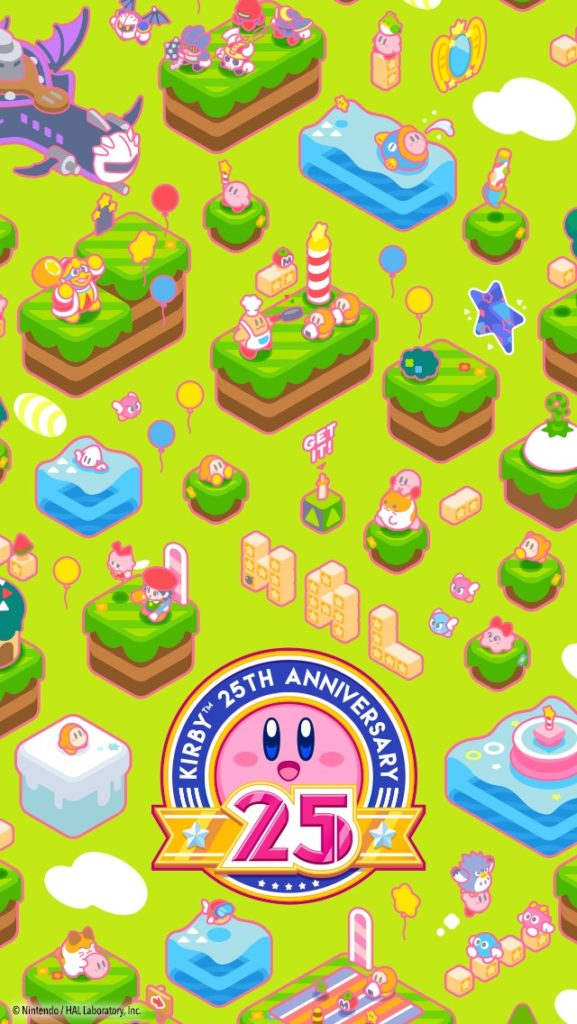 Animal Crossing Desktop Wallpaper Play Nintendo Kirby 25th Anniversary Wallpapers