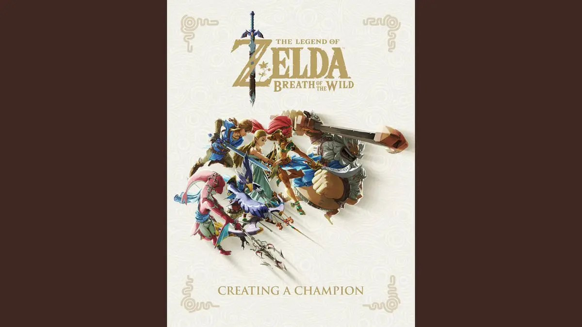 Descuento Libros Amazon Portada Del Libro Zelda Breath Of The Wild Creating A Champion