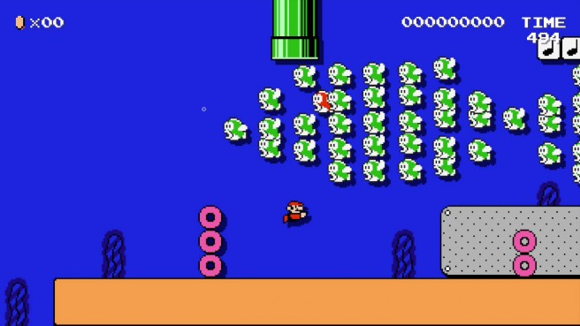 Super Mario Maker sold through 56 of its initial shipment in Japan