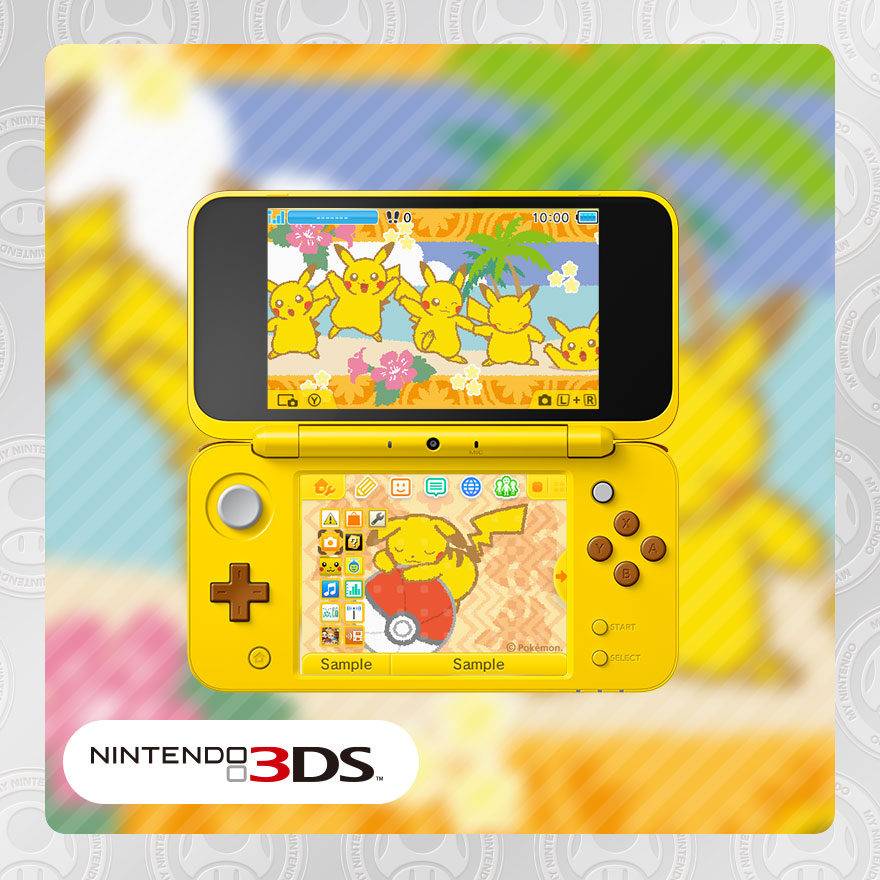 My Nintendo adds a 3DS theme, Detective Pikachu wallpaper, free