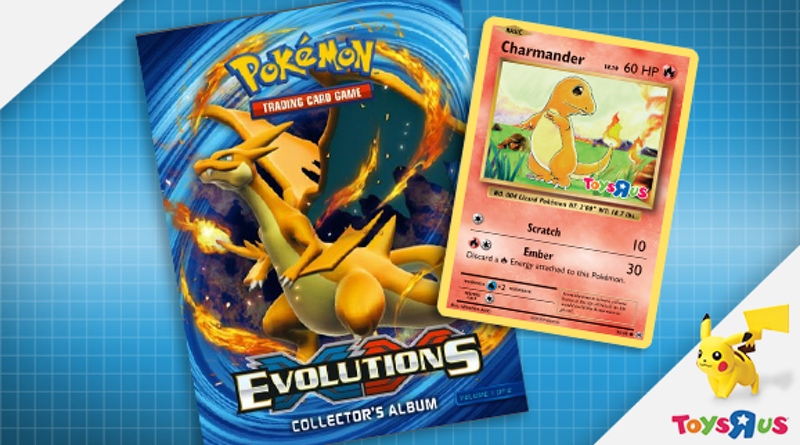 Toys R Us Hosts Pokémon TCG: XY – Evolutions Launch Event