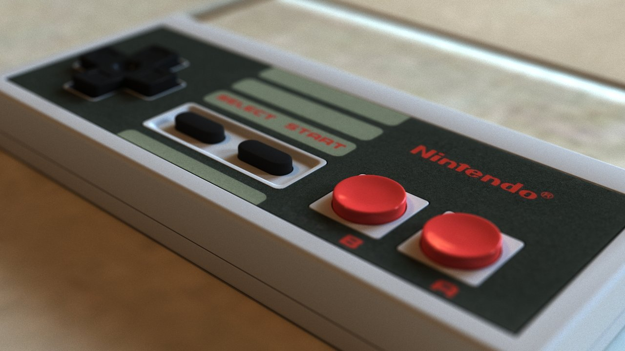 3d Modern Wallpaper Designs Nintendo Reacquires Nes Controller Design Trademark