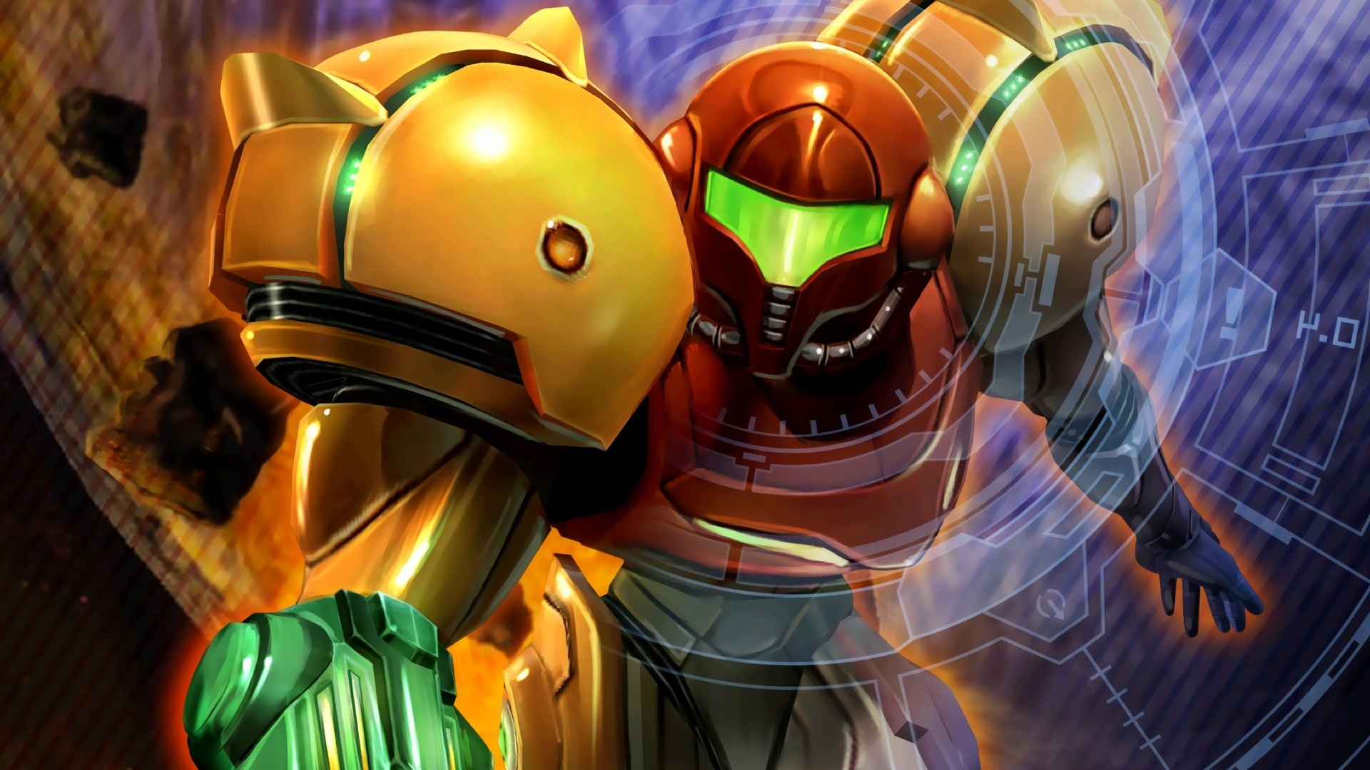 Nintnedo Fall Wallpapers Metroid Memories Part I Metroid Amp Metroid Ii Return