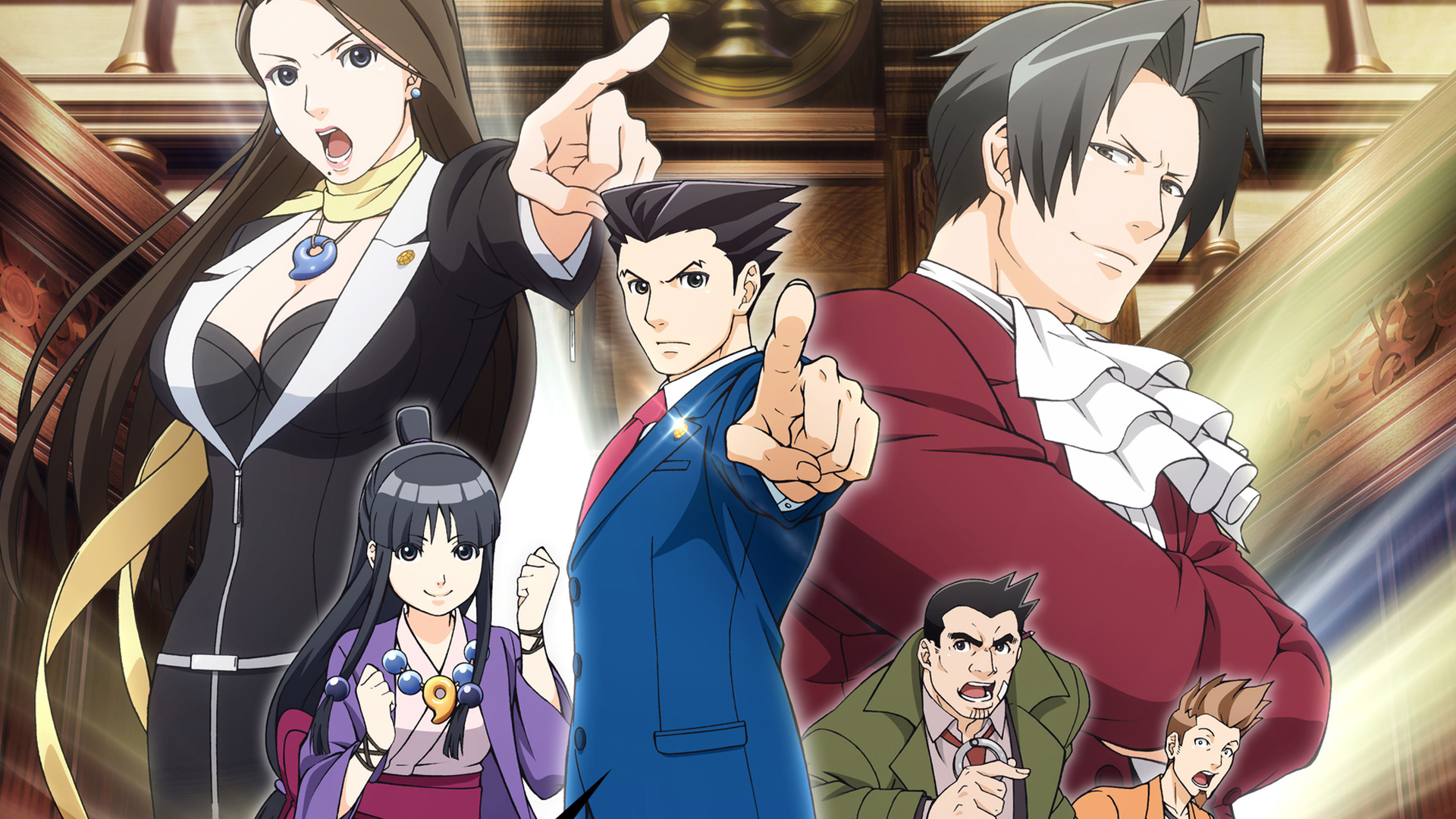 ace attorney anime dub