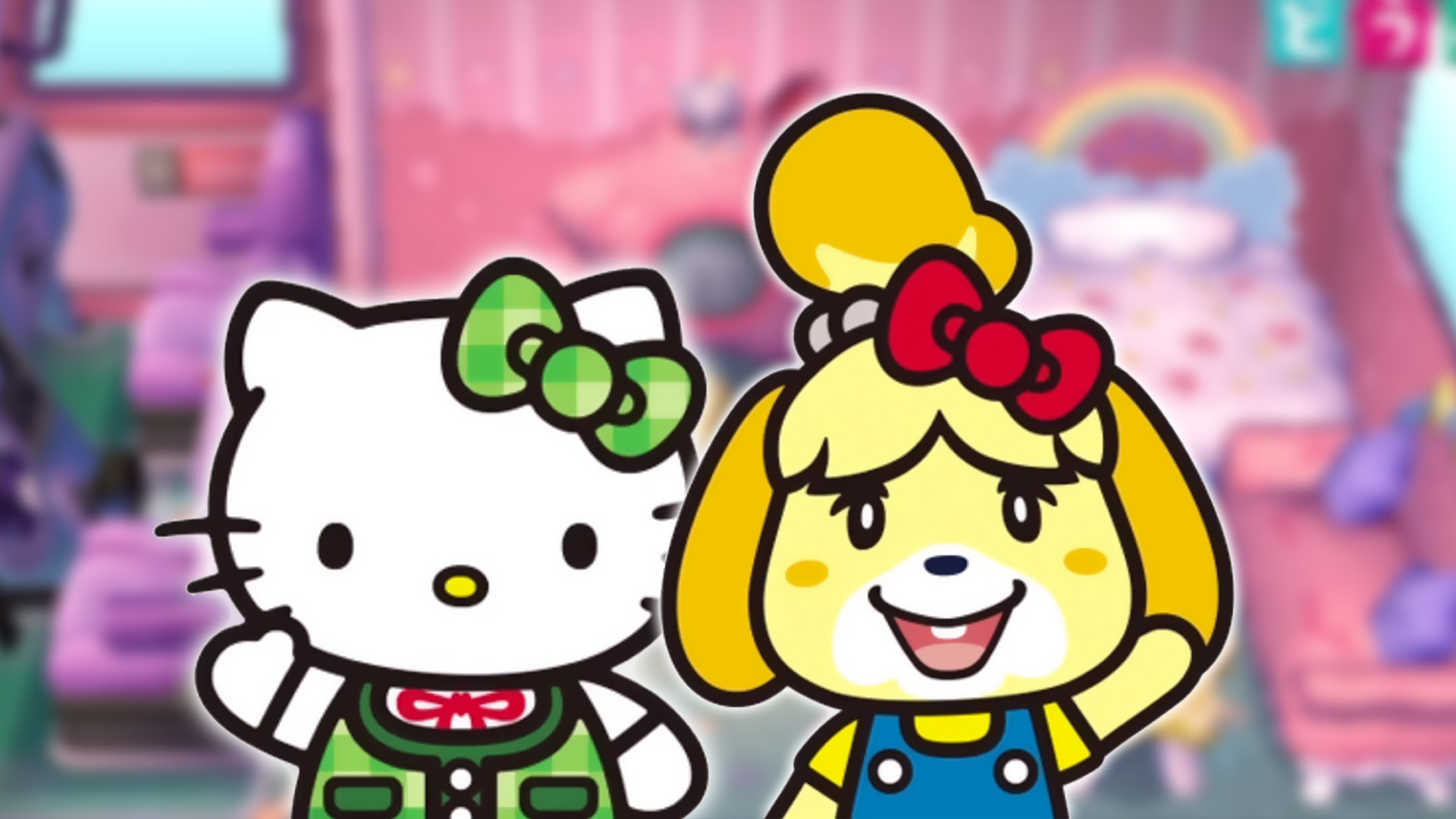 Animal Crossing New Leaf Wallpaper Japanese Region Hello Kitty Amiibo Cards Function In The U