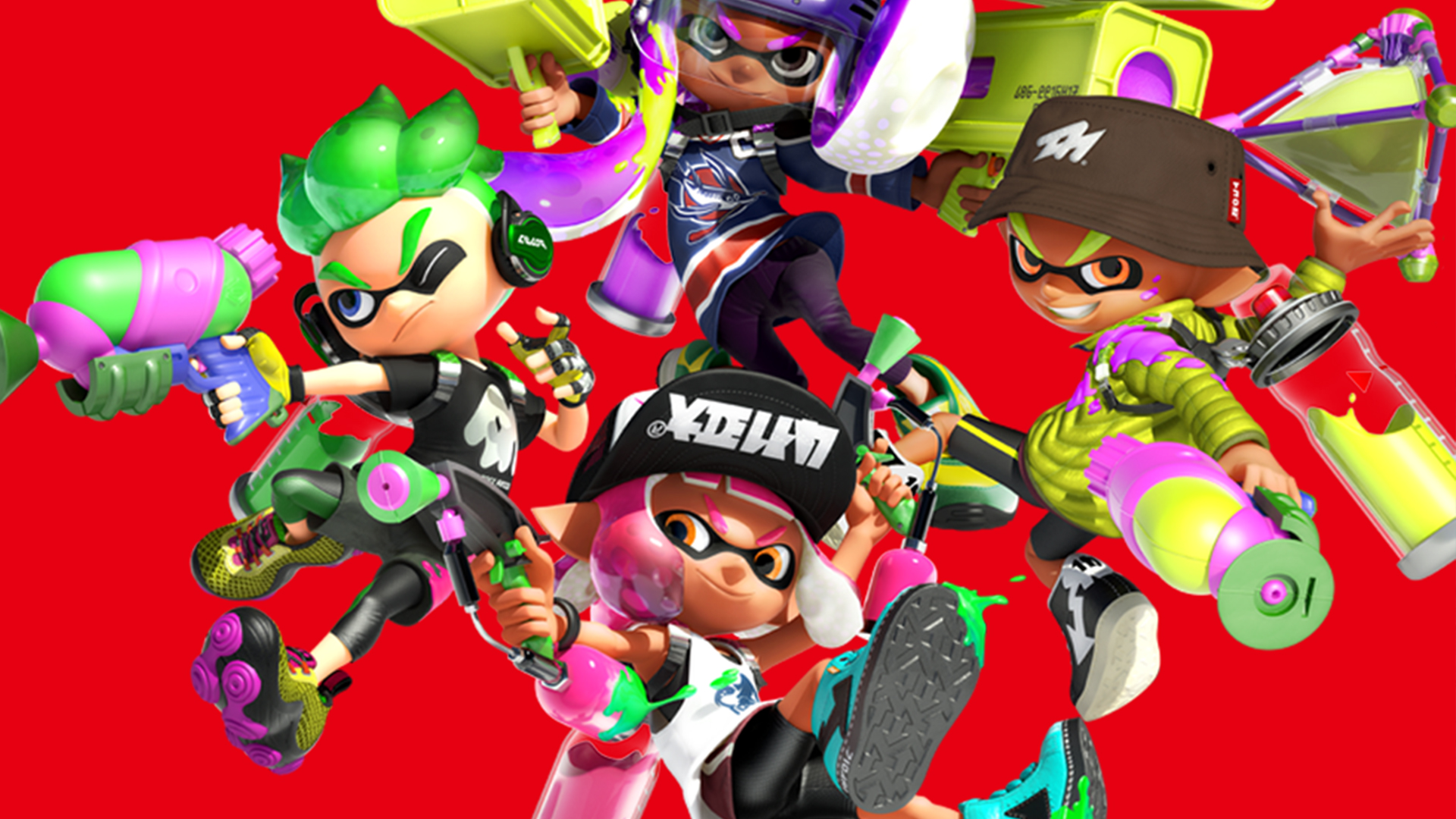 Splatoon Wallpaper Iphone New Story Mode Features For Splatoon 2 Revealed Nintendo