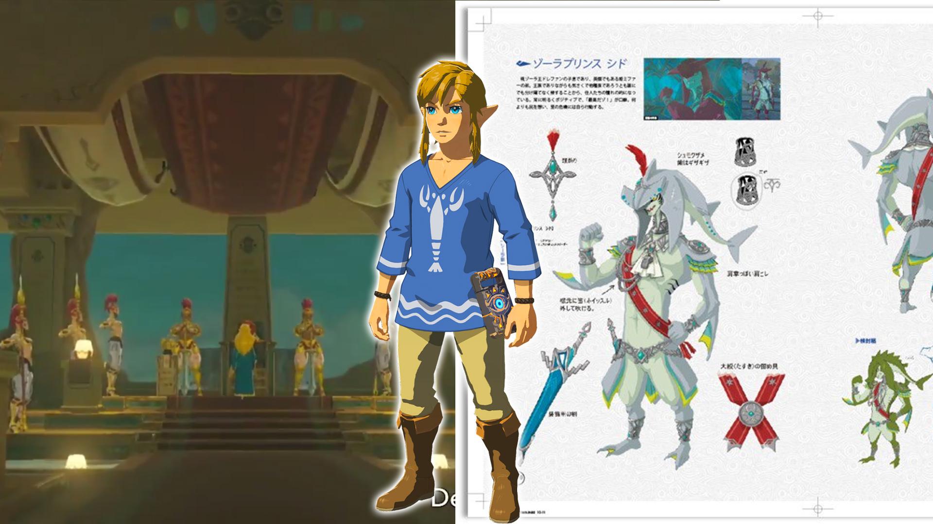 Summer Animal Wallpaper More Champions Ballad Dlc Info Released Third Zelda