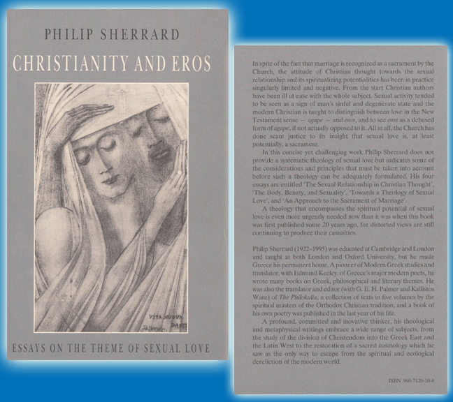 Christianity and Eros Essays on the Theme of Sexual Love, Social