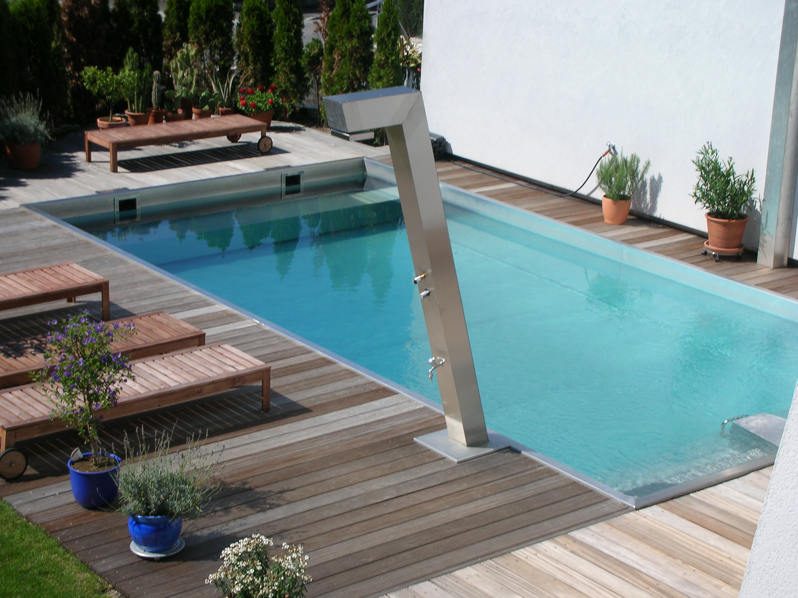 Pool Terrasse Skimmer Pools Niropool