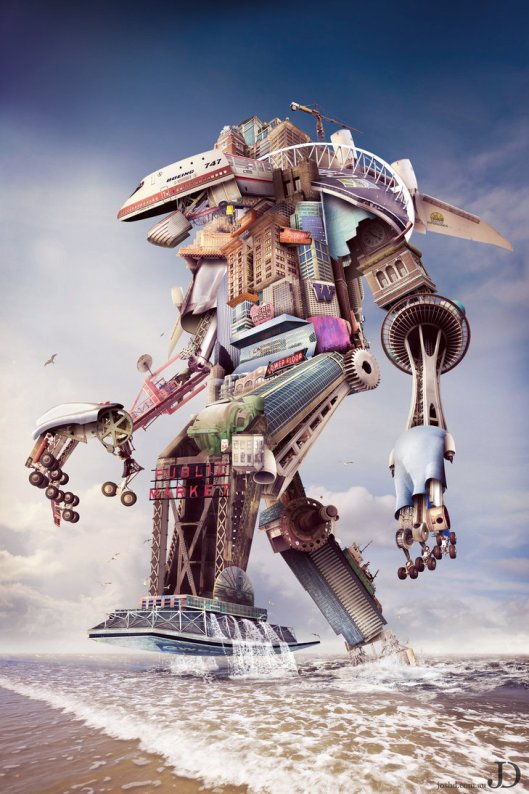 robotic photo manipulation
