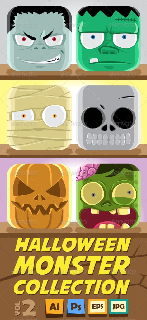 Halloween icons download