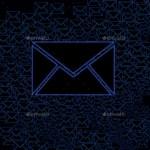 blue inbox email icon stock image by nisha gandhi