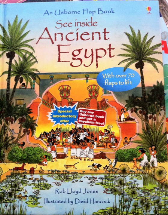 Ancient Egypt is so colorful and bright