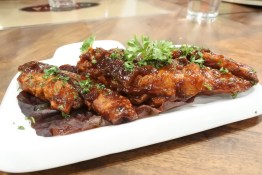 Chicken in barbeque sauce