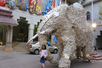 Snubnose loved this giant elephant