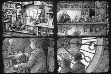 The beautiful illustrations