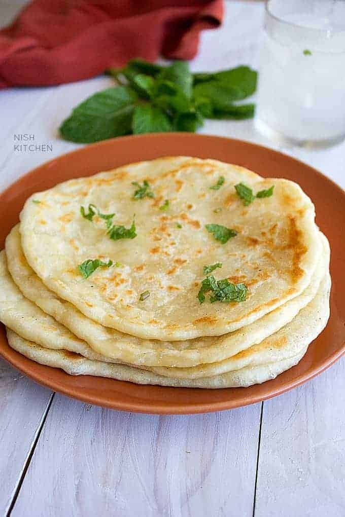 plain naan recipe