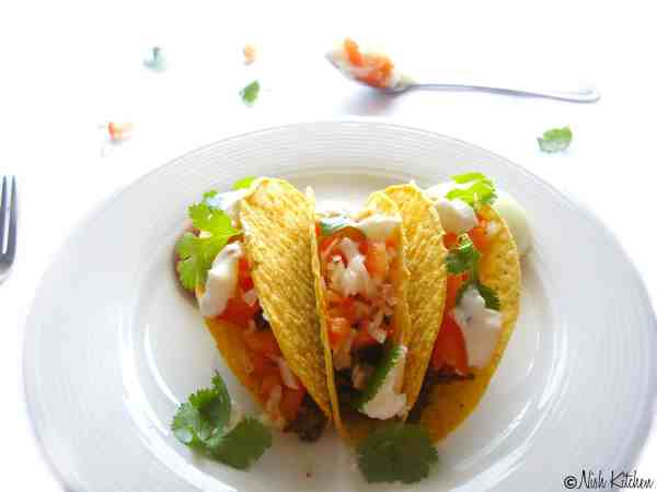 Indian tacos | Tacos loaded with Indian spices | nish kitchen