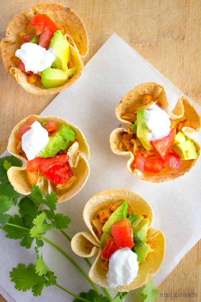 Taco cups