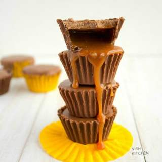 chocolate salted caramel cups