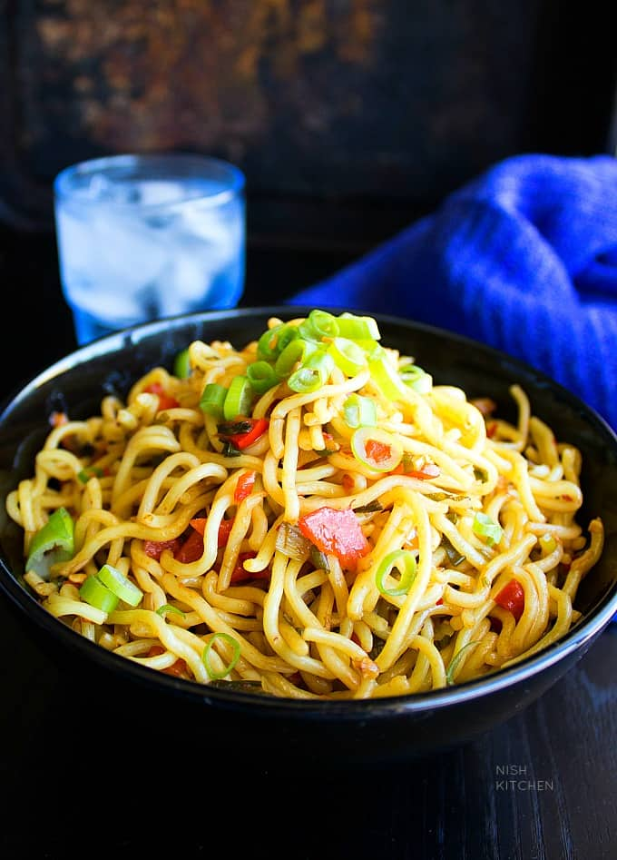 chilli garlic noodles indian style