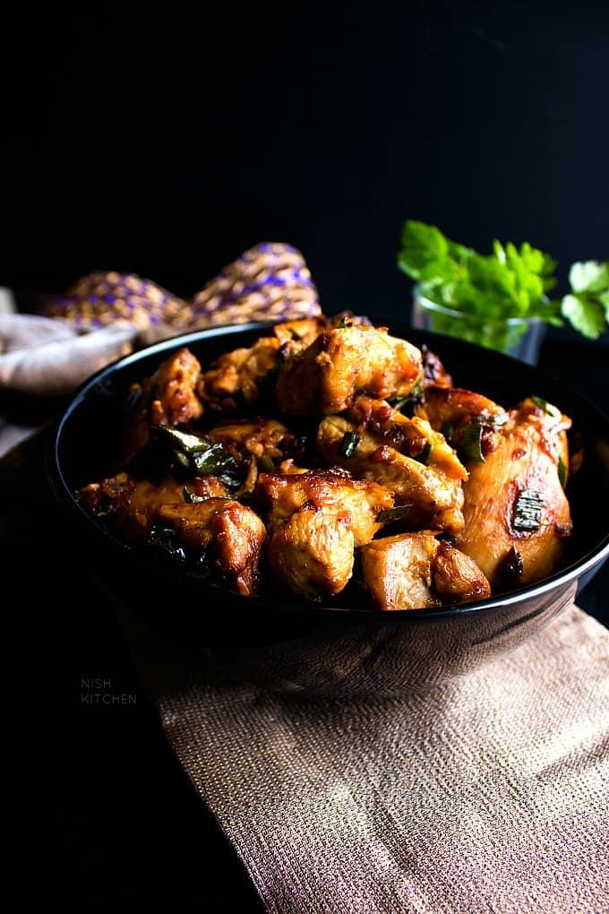 indian ginger chicken recipe