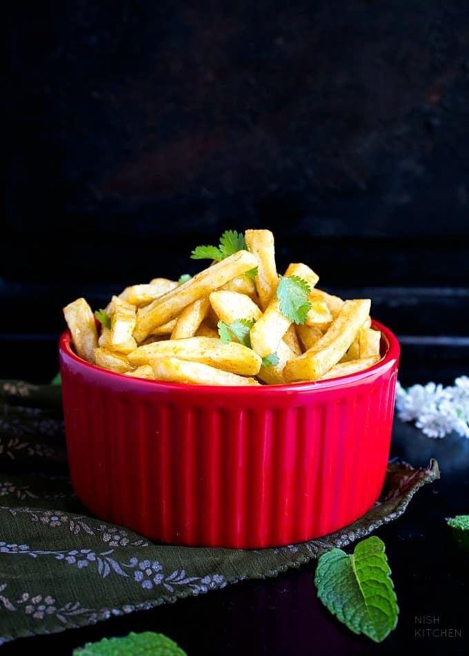 honey chilli potato video