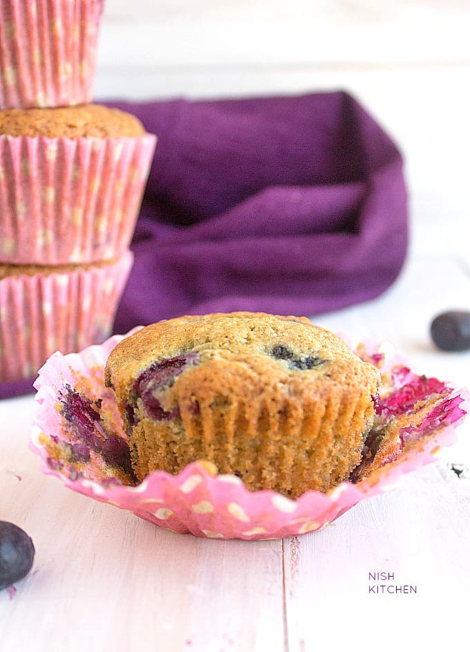 one bowl easy blueberry muffins video recipe