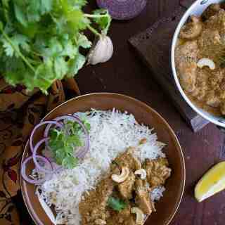indian chicken korma recipe with video