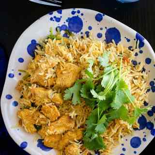 chicken pulao video recipe