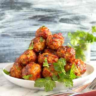 tandoori chicken meatballs recipe video