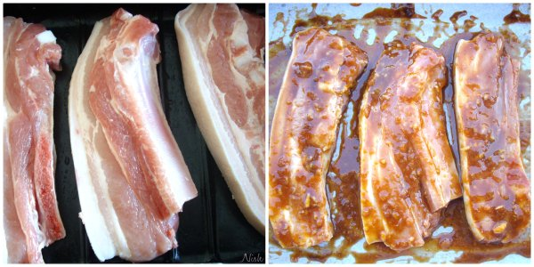 marinate pork ribs