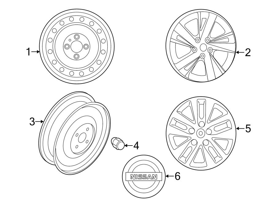 2004 nissan altima wheels