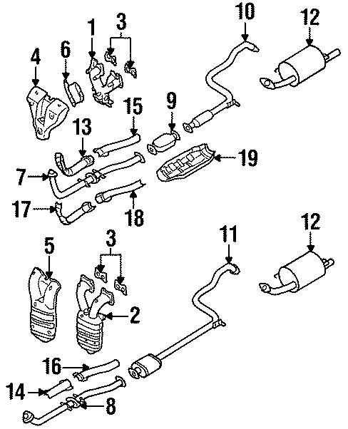 bosalr nissan 200sx 1986 catalytic converter