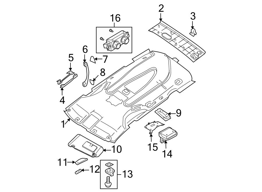 2006 nissan quest parts auto parts diagrams