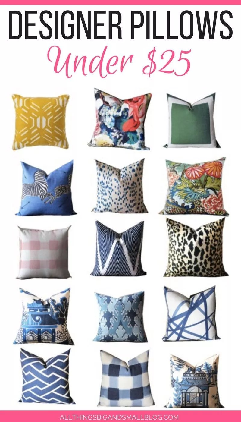 Affordable Throw Pillows Designer Accent Pillows For Under 25