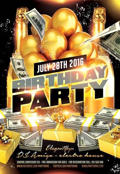 New 3d Wallpapers Free Download For Mobile Flyer Psd Template Birthday Party 7 Facebook Cover