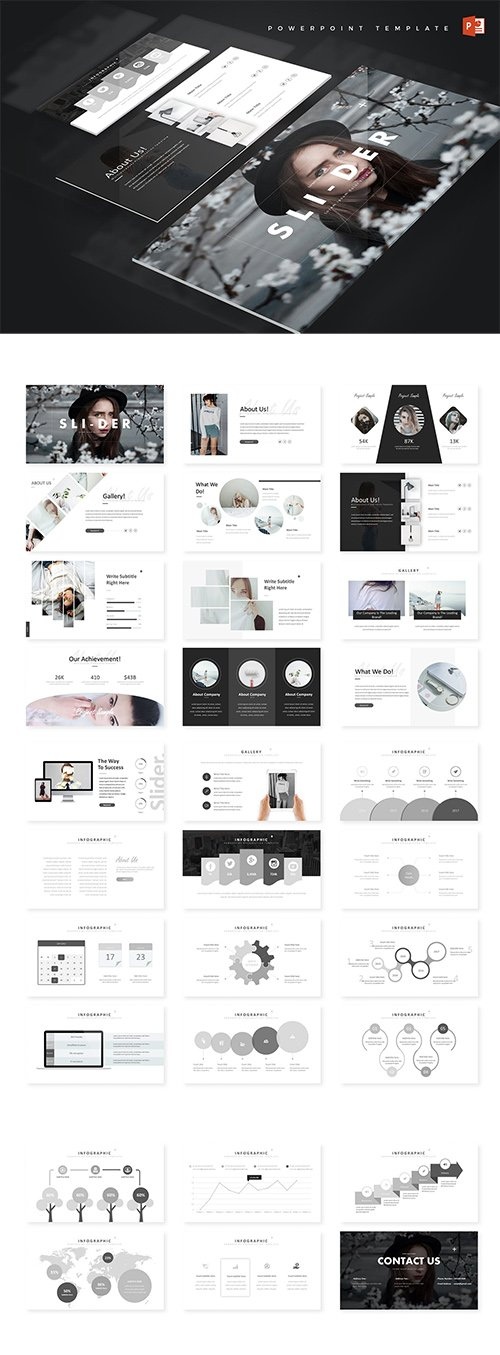 Slider - Powerpoint Template and Keynote
