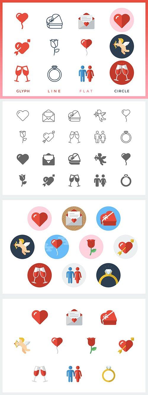 Valentine's Day - Icons Event