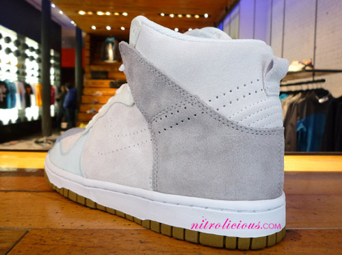 Nike Womens Dunk High Perforated Swoosh
