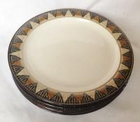 Nivag Crockery: Denby - Boston Spa: Set of 4 Dinner Plates