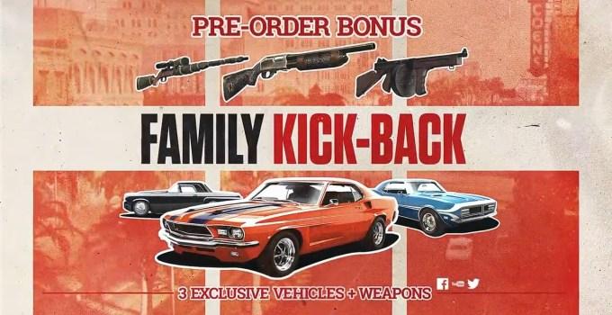 Bonusuri de preorder pentru Mafia III